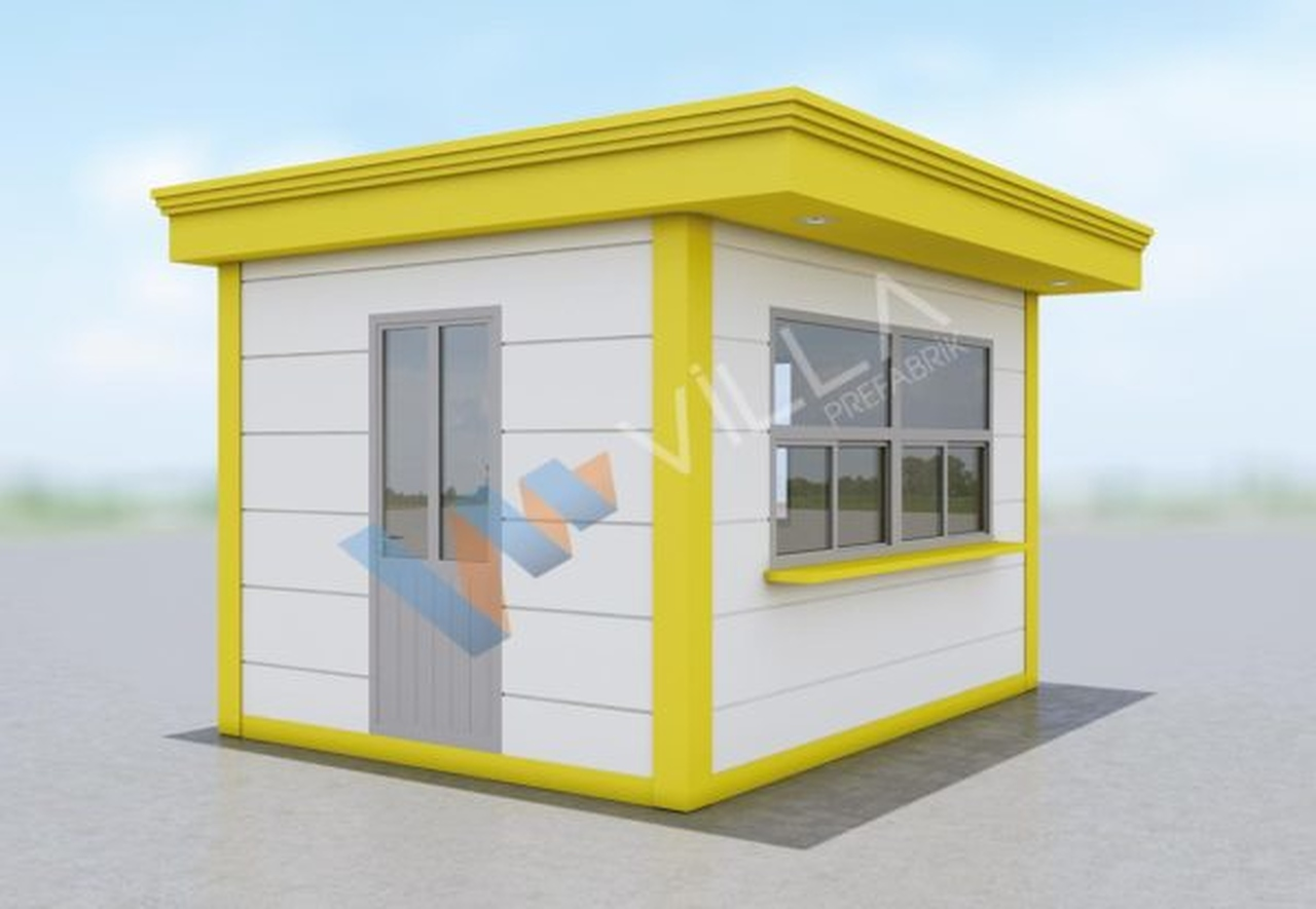Taksi durağı ya da satış büfesi olarak kullanılabilen metropol konteyner
