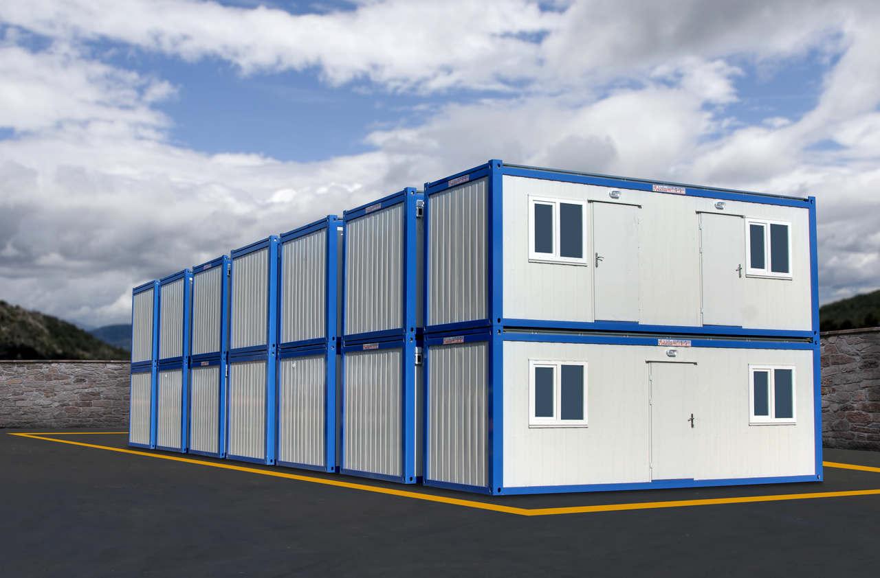 İki katlı konteyner yapı