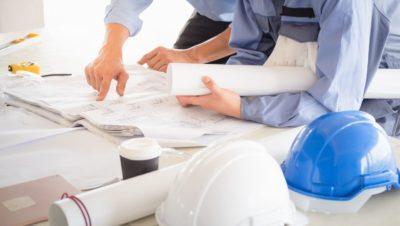inşaat alanı hesaplaması yapan mimarlar