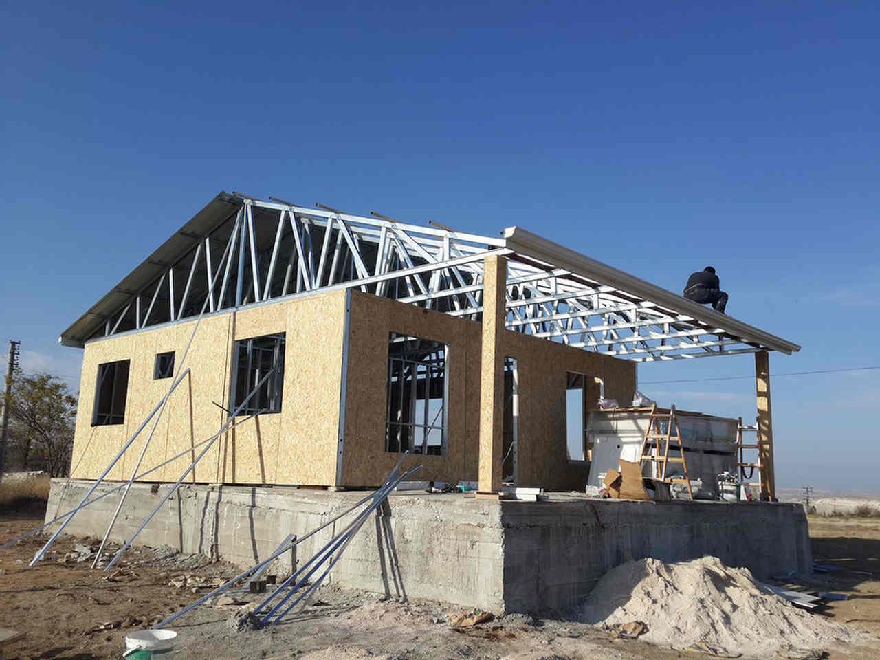 prefabrik ev inşaatı