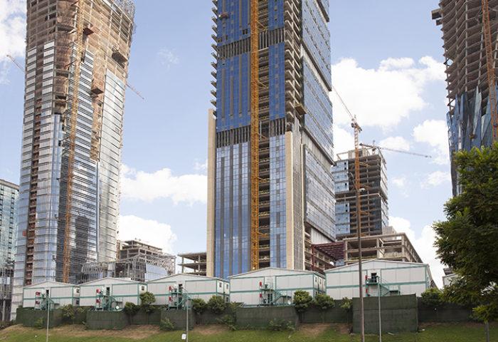 Finans merkezi inşaat