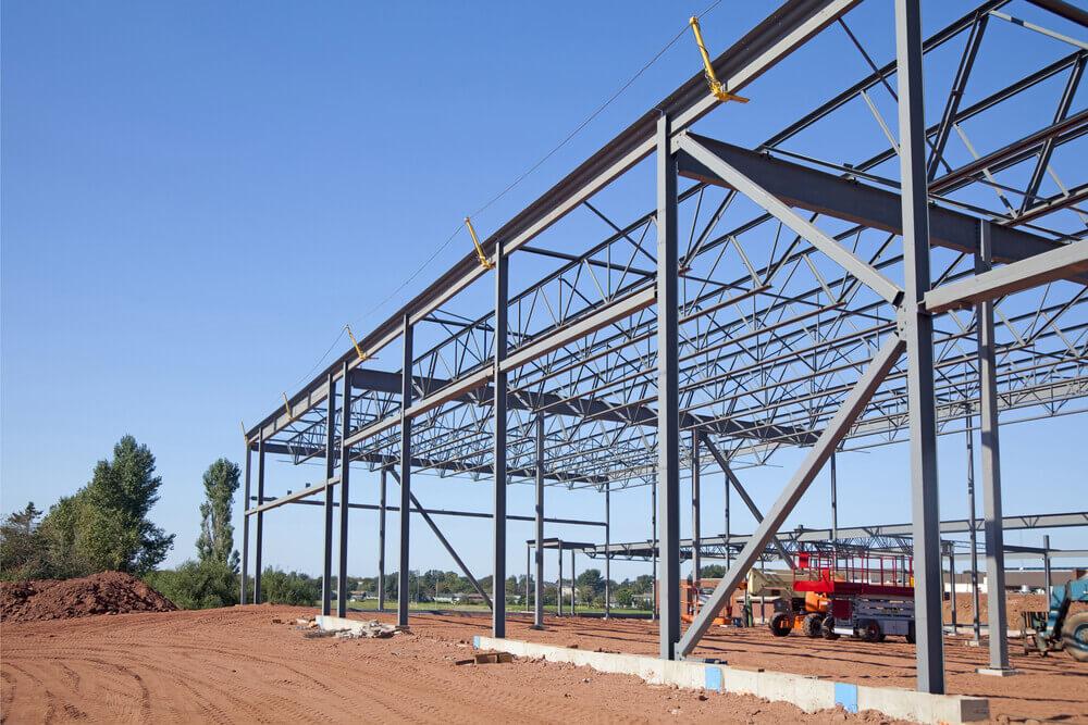 çelik konstrüksiyon yapı inşaatı